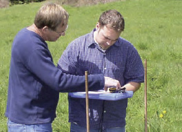 The only thing left to do aftweward is collect the raw data and determine where to drill your well.