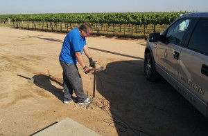 Step 4 – Install and discharge seismic source